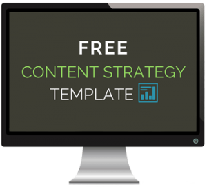 Content Strategy Template - Computer Icon